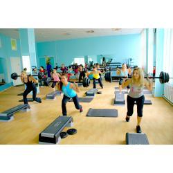 малый зал фитнес студии